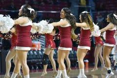 2015 basquetebol do NCAA - templo contra o estado de Delaware Imagem de Stock Royalty Free