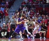 2015 basquetebol do NCAA - Templo-ECU Fotografia de Stock Royalty Free