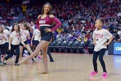 2015 basquetebol do NCAA - Templo-ECU Fotografia de Stock