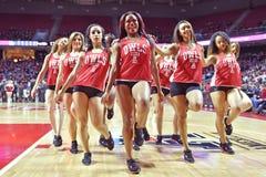 2015 basquetebol do NCAA - templo-Tulane Fotos de Stock