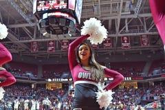 2015 basquetebol do NCAA - templo-Tulane Fotos de Stock Royalty Free
