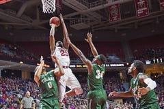 2015 basquetebol do NCAA - templo-Tulane Imagens de Stock Royalty Free