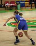 Basquetebol Euroleague das mulheres Imagem de Stock