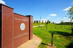 Basra war memorial, Nationa Memorial Arboretum. Stock Images