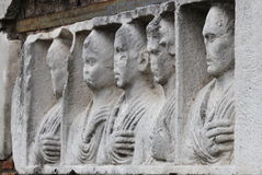 Basrelief in Appian way Royalty Free Stock Image