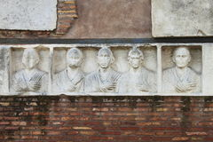 Basrelief in Appian way Royalty Free Stock Photography