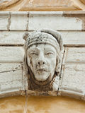 Basrelief på fasaden Royaltyfri Bild
