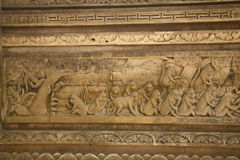 Basrelief Royalty Free Stock Photography
