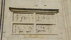 BasreliefModena Unesco Fotografering för Bildbyråer