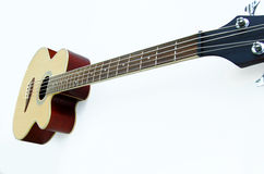 Bass, acoustic guitar Stock Photography