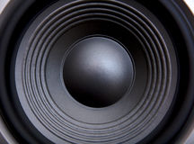 Bass acoustic speaker Royalty Free Stock Photos