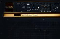 Bass Amp retro idoso Imagem de Stock