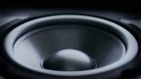 Bass Audio Speaker que golpea pesadamente almacen de video