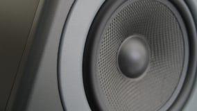 Bass Audio Speaker que golpea pesadamente (lazo) almacen de metraje de vídeo