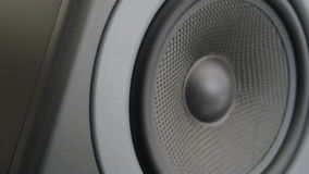 Bass Audio Speaker (Schleife) schlagen stock video footage