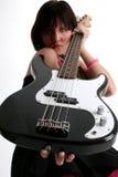 Bass Babe Stock Image