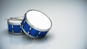 Bass drum isolated Royalty Free Stock Image