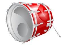 Bass drum Royalty Free Stock Photos