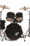 Bass Drum Kit. Isolated over white background stock images