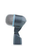 Bass Drum Microphone. On white Stock Photo