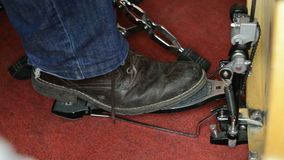 Bass drum pedal Stock Photography