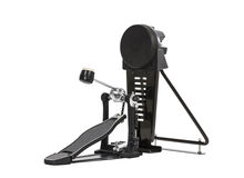 Bass Drum Pedal Isolated fotografia stock