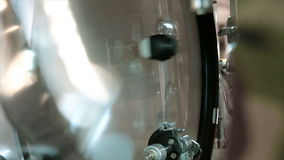 Bass Drum Playing stock video footage