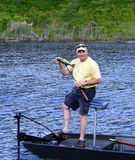 Bass Fishing Stock Photography