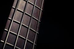 Bass fret board Royalty Free Stock Photography