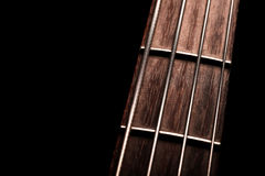Bass fret board Royalty Free Stock Images