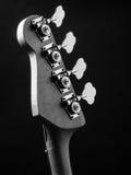 Bass-Gitarrenspindelkasten Stockfotografie