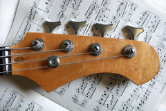 Bass guitar Stock Images