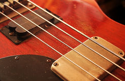 Bass guitar Royalty Free Stock Image