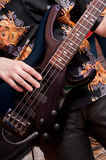 Bass guitar Royalty Free Stock Photography