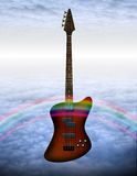 Bass Guitar Royalty Free Stock Photo
