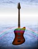 Bass Guitar. High Resolution Illustration Bass Guitar Royalty Free Stock Photo
