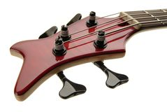 Bass guitar. Detail Stock Photography