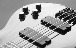 Bass Guitar Royalty Free Stock Photos