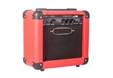 Bass guitar amplifier Stock Images
