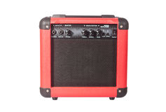 Bass guitar amplifier Stock Image