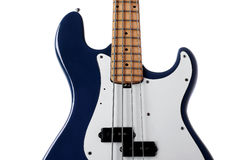 Bass guitar close up Royalty Free Stock Photos