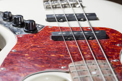 Bass Guitar Close Up Royalty Free Stock Images