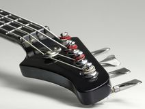 Bass guitar detail Stock Photography