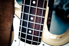Bass guitar Royalty Free Stock Images