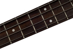 Bass Guitar Fretboard Royalty Free Stock Photography
