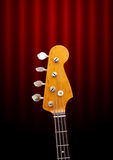 Bass Guitar Head Stock Image
