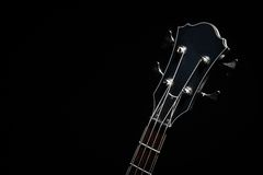 Bass guitar head Royalty Free Stock Images