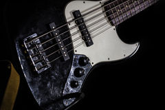 Bass guitar, musical instrument Royalty Free Stock Photos