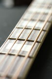 Bass Guitar neck Royalty Free Stock Photos