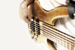 Bass Guitarist fotografie stock
